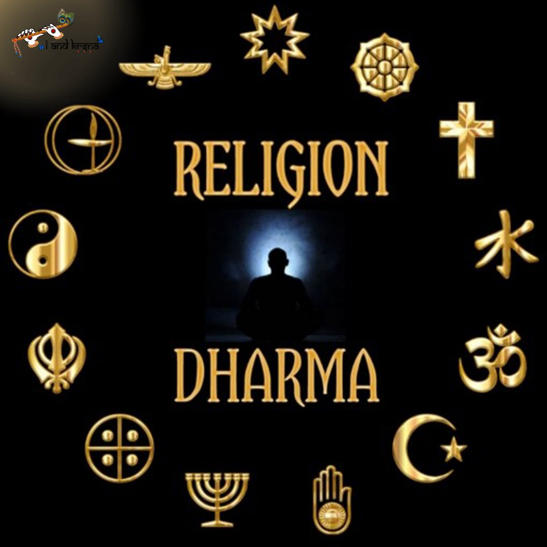 difference between Dharma and Religion?
