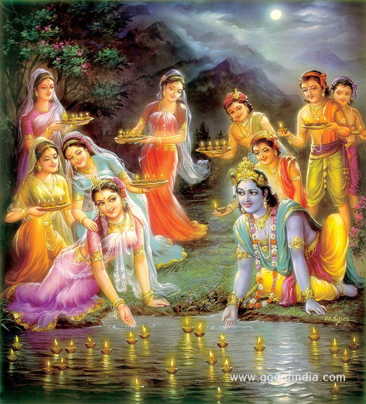 Gopis love for Krishna not material.