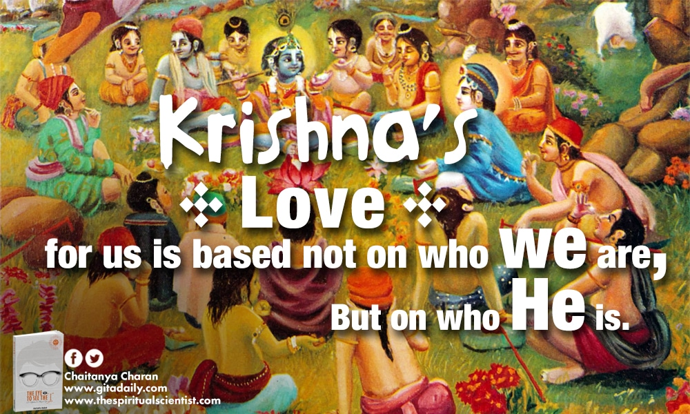 Bhakti with motive, motivation of bhakti, krishna love, shree krishna, motivational life