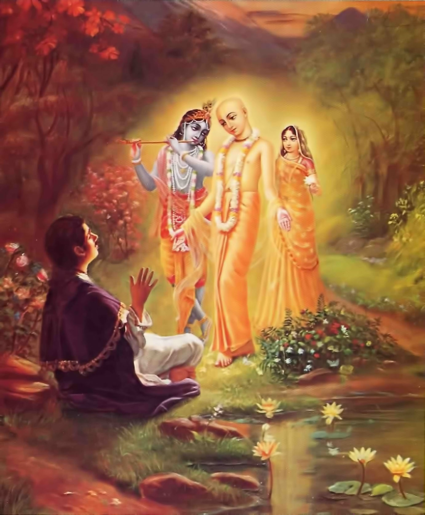Who is Lord Chaitanya,chaitanya, lord krishna