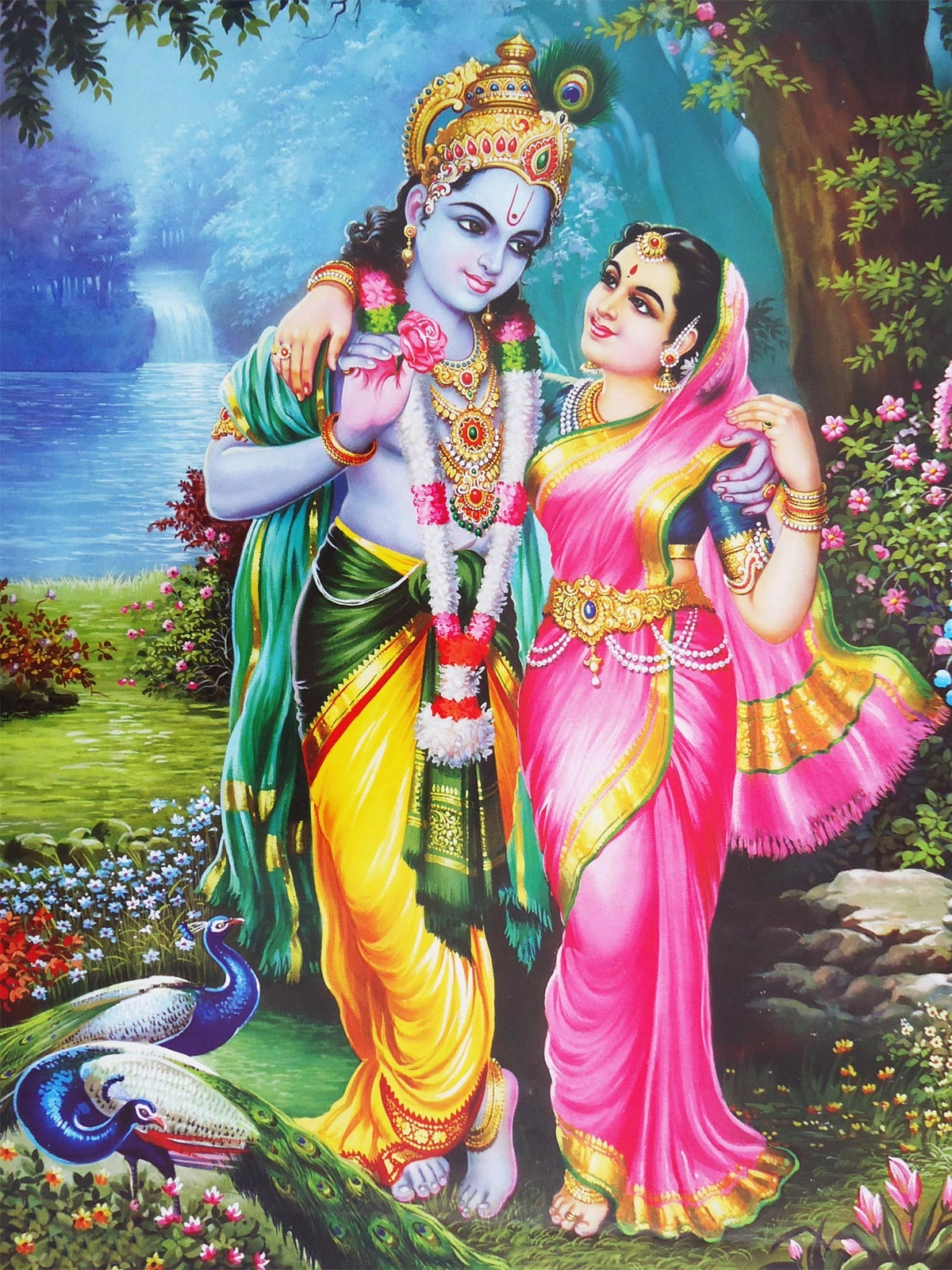 Do devotee of Lord Krishna have to suffer for their past