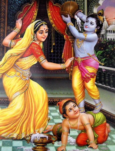 Stealing maakhan , little krishna