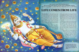 Life story by god, Life comes from matter comes from life?