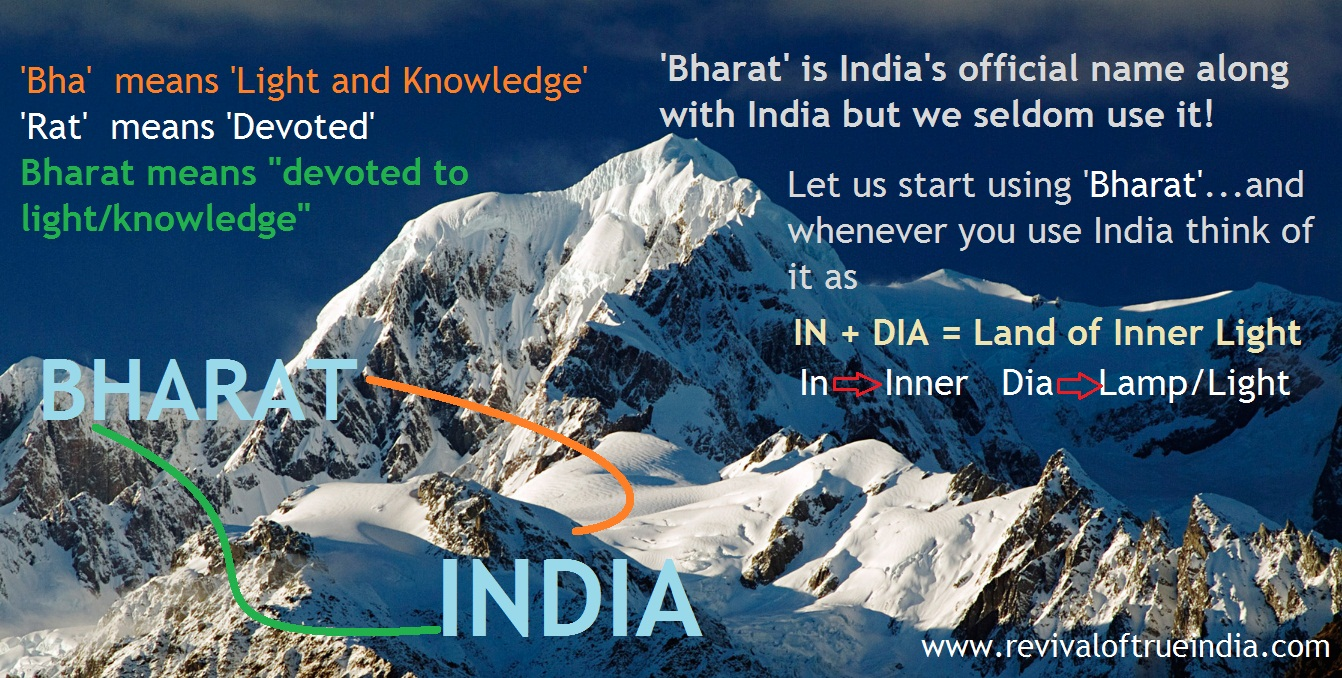 Bharat-varsa (India) is the special land