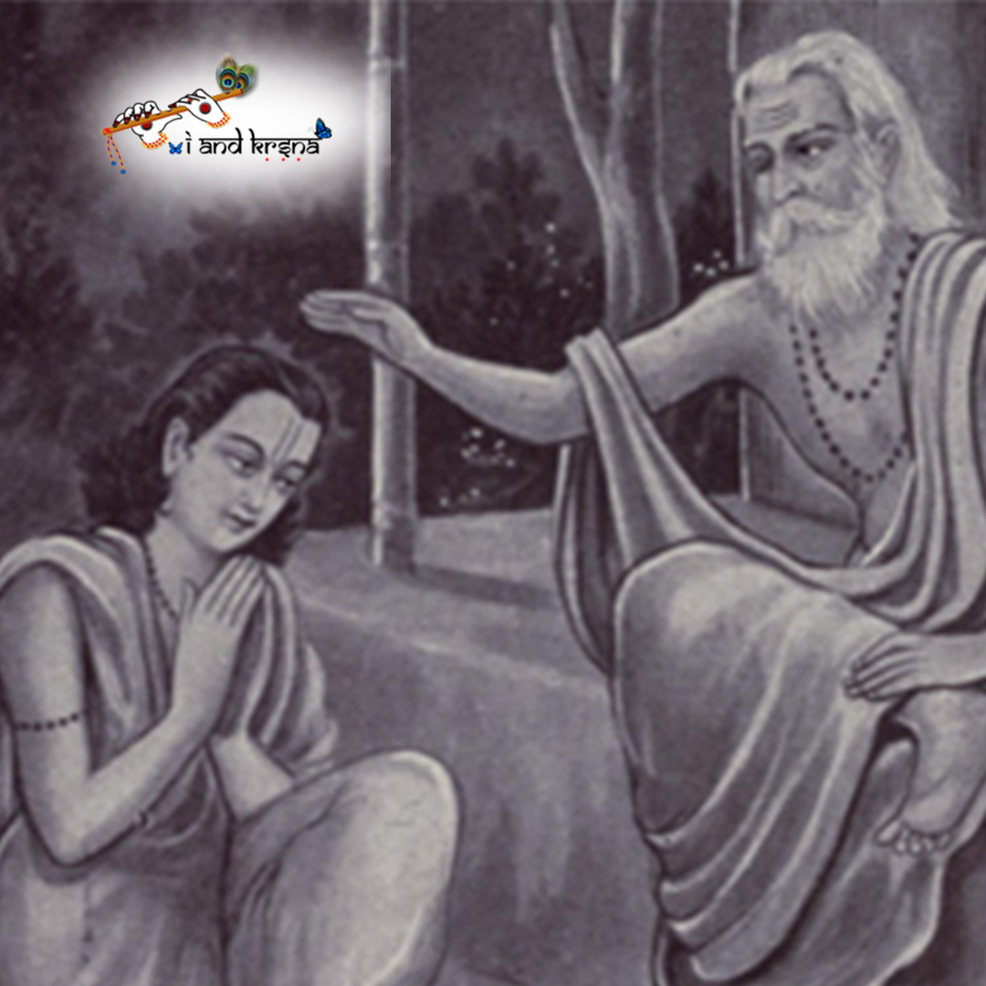 Only the most fortunate persons come in contact with the guru.