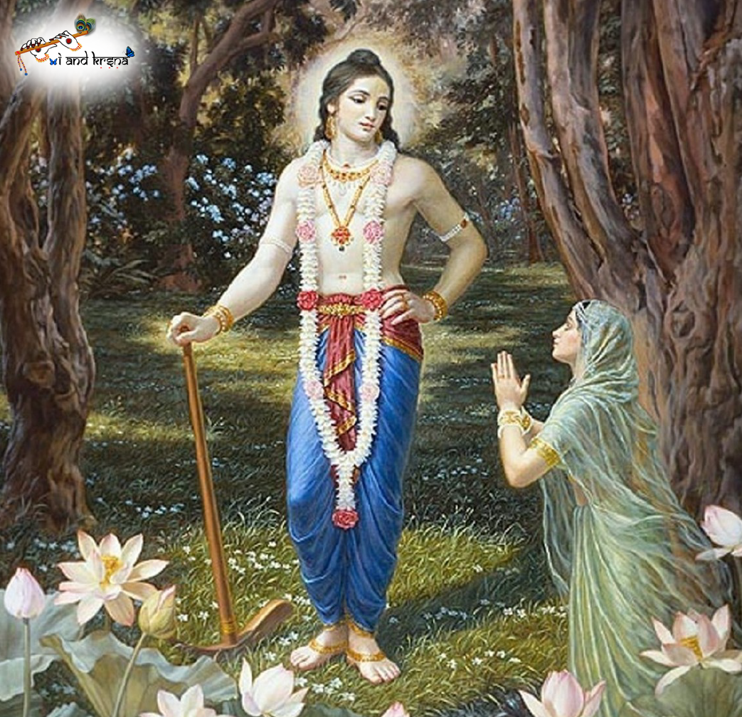 One cannot attain the goal of life without the mercy of Balarama